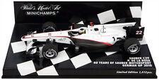 Minichamps Sauber C29'40 años de Alemán GP 2010-Pedro De la Rosa 1/43 Escala