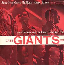 "JAZZ GIANTS 1959 (STAN GETZ, GERRY MULLIGAN a.o.) - Candy (1959 EP 7"" DUTCH PS)"