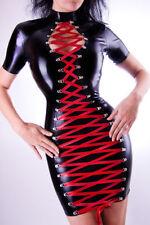 LATEX Vestido goma con cordón RUBBER MINI VESTIDO