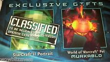 BLIZZCON 2011 WoW WORLD OF WARCRAFT MURKABLO PET LOOT CARD ACCOUNT - UNSCRATCHED