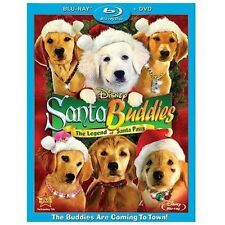SANTA BUDDIES New Sealed Blu-ray + DVD Disney BRAND NEW CHRISTMAS AIR BUD NEW!!!