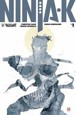 NINJA-K #1 cover D 1:50 ICON Variant DAVID MACK Ninjak Valiant Universe Rowe