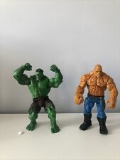 Marvel Legends Hulk And Fantastic Four Thing Movie Figures.
