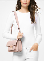 NWT MICHAEL KORS  Sloan Editor Large Leather Shoulder Bag $298 Soft Pink
