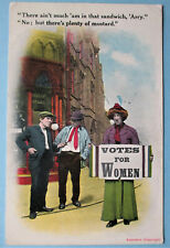More details for votes for women suffragette pc. by bamforth. postmark 1914 ... no.2214