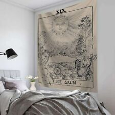 Hanging cloth Tarot Card Tapestry Wall Hanging Astrology Divination Beach Mat^&