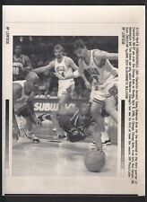 Kenny Anderson loose ball vs Toni Kukoc Vintage AP Laser Wire Photo with caption
