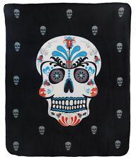 Sugar Skull Dead of the Dead  Blanket Sugar Skull Blanket Skulls