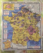 Set ed Table Affiche Poster Deco Murale France Bonneterie Soierie Arme Laine