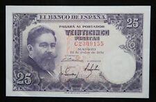 España 25 pesetas billete 1954 P 147 A