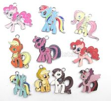 20 Pcs My little pony Enamel Charms Metal Pendants DIY Jewelry Making Gift P11