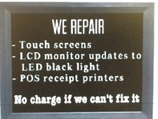 Ibm 4820 Monitor & Touch Screen Monitors Repair & Upgrade To Led Backlight