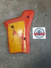 Honda XR250R 1984 left side cover panel number plate plastic fairing XR200R 1985