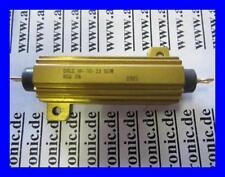VISHAY Resistor Wirewound 10 Ohm 3% 50W  Aluminum Housed AXL Flange 1 Stück