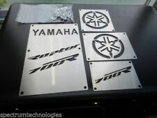 CUSTOM 13-18 YAMAHA RAPTOR 700 R 700R FENDER WARNING TAGS PLATES BADGES NEW!