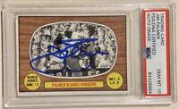 1967 Topps Signed JIM PALMER World Series Baseball Card PSA/DNA Auto Grade 10