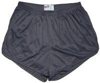 Soffe Gray Nylon Ranger Panties / Silkies / Running / Track Shorts Men's Large