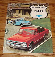 Original 1968 Chevrolet Truck Pickup Chassis-Cab Stakes Sales Brochure 68 Chevy
