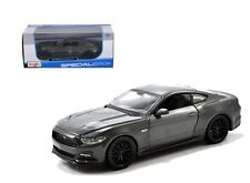 MAISTO 1:24 W/B SPECIAL EDITION 2015 FORD MUSTANG GT DIECAST CAR GREY 31508