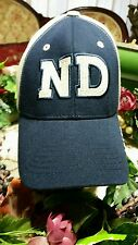 Norte Dame Irish baseball hat fitted cap navy,khaki four leaf clover embroidered