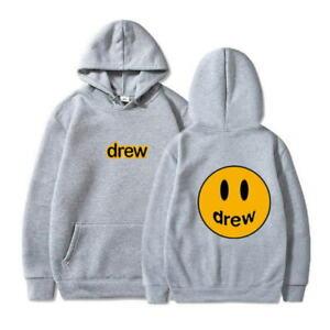 Sweatshirt Drew House Justin Bieber Happy Face Hailey Baldwin Hoodie Unisex Gift