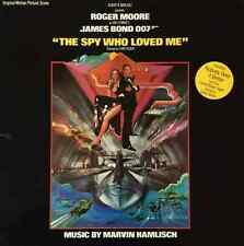 MARVIN HAMLISCH ‎- The Spy Who Loved Me: Original Motion Picture Score (LP)