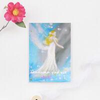 """Genesungskarte """"Gemeinsam sind wir stark"""" Krankheit, Postkarte, Karte, Engel"""
