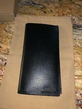 Authentic Burberry Cavendish Continental Leather Long Wallet