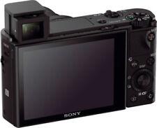 Appareils photo numériques noirs Sony de modèle Cyber-shot DSC-RX100 III