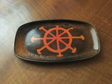 Poole Pottery Aegean oblong small dish