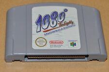 N64 Nintendo 64 juego módulo - 1080 ° RTE Eighty snowboard-deportes de invierno