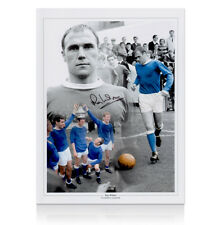 Ray Wilson Hand Signed Autographed Photo - Everton Legend Autograph