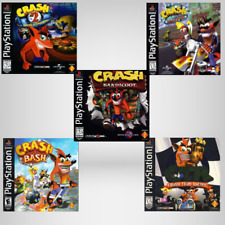 Crash Bandicoot  & Spyro the Dragon games (PlayStation 1) PS1 TESTED