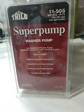 Windshield Washer Pump Front Trico 11-505