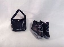 Ty Gear Beanie Kids 2 pc set Shoes & Purse VGC CUTE
