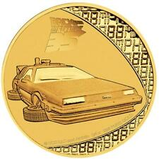 Niue - 25 Dollar 2020 - Back to the Future™ - 35. Jubiläum - 1/4 Oz Gold PP