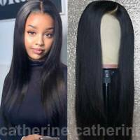 Lace Front Wig 150% Density 100% Indian Virgin Human Hair Wig Natural Straight J