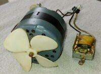 Vtg WOLLENSAK T-1600 Revere Camera COOLING FAN Part # C9-14957D & TRANSFORMER