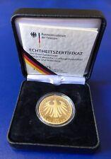 """Pfandhaus Wagner: Goldmünze """"100 Euro Luthergedenkstätten Eisleben/Wittenberg"""""""