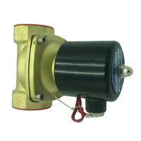 2 Inch Brass High Pressure Electric Steam Solenoid Process Valve 220V AC