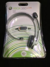 Microsoft Xbox 360 Live Wired Headset with Mic Brand New Sealed