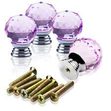 Poignées et crémones de porte boutons roses sans marque