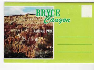 POSTCARD FOLDER-BRYCE CANYON NATIONAL PARK