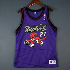 100% Authentic Marcus Camby Champion Raptors Jersey Mens Size 44 L M - carter