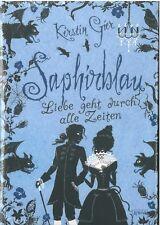 Saphirblau. Liebe geht durch alle Zeiten von Kerstin Gier (2010, Gebundene Ausga