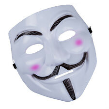 Anonymous V for Vendetta Guy Fawkes Fancy Dress Halloween Face Mask AD