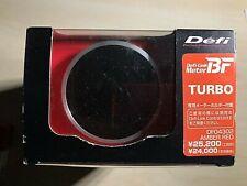 DefiBF link meter TURBO Boost Gauge AMBER REDDF04302 metric 60mm RARE JDM