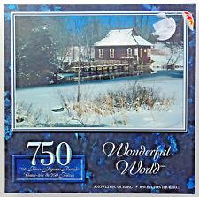 jigsaw puzzle 750 pc Wonderful World Knowlton Quebec Antiques Store Sure-Lox