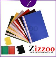 A4 PROJECT REPORT FILES 2 PRONG IN VARIOUS COLOURS AND CLEAR COVER