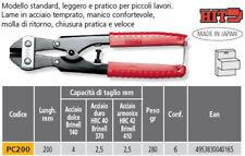 TRONCHESE DOPPIA LEVA MM 200 HIT ITALY PROFESSIONALE CESOIA TAGLIABULLONI MINI
